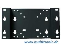equip - Befestigungskit (Wandbefestigung) für LCD-/Plasmafernseher - kaltgewalzter Stahl - Schwarz - Bildschirmgröße: 25.4-81.3 cm (10